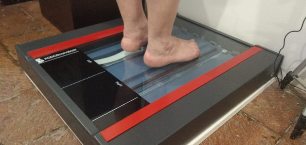 podoscanner evaluacion pie